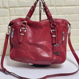 MICHAEL KORS Essex Cherry Studded LG Satchel